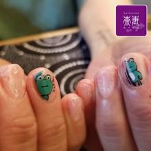 梅雨の季節に☆カエル&水滴アート